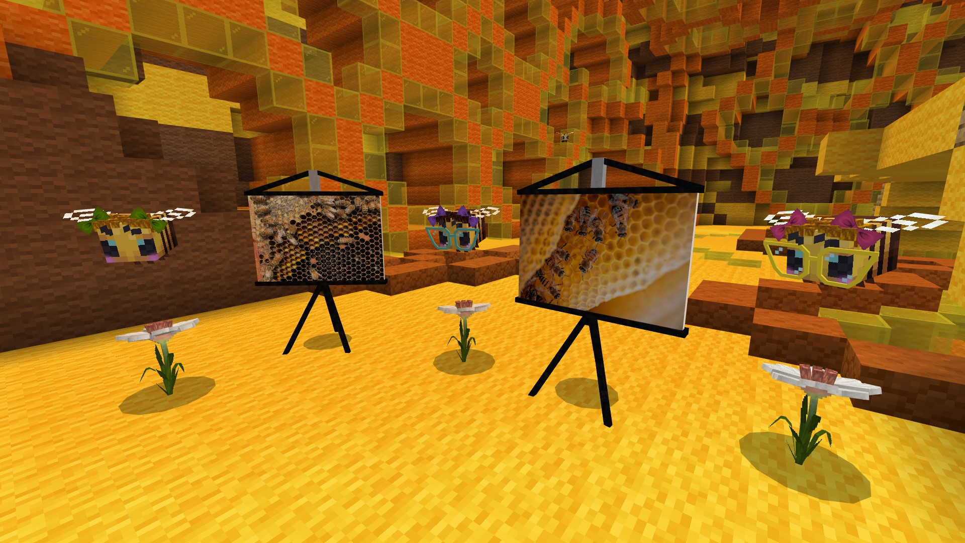 BUILD WITH BEES: BEE TREASURES Minecraft Education Edition