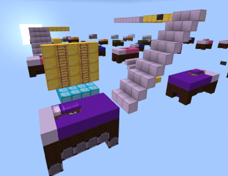 Commutative Property Bed Wars Minecraft Education Edition
